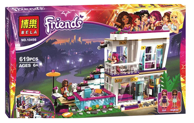 Конструктор Bela Friends – аналог LEGO для девочек