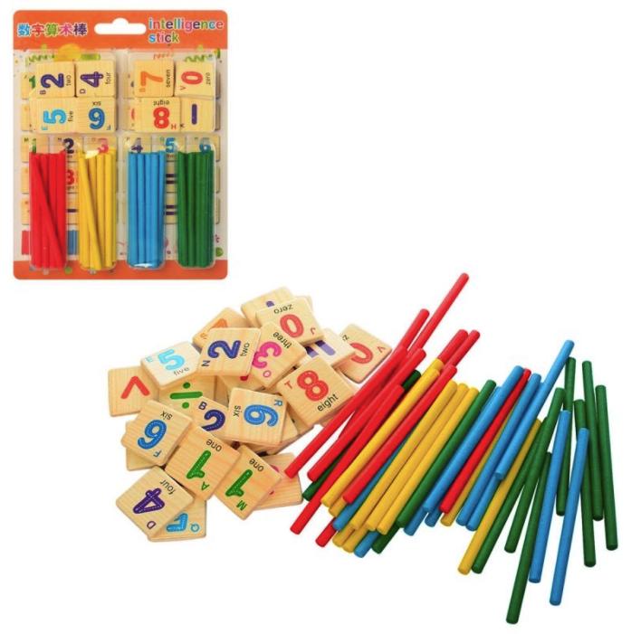 Счетный материал для обучения ребенка: виды и особенности применения