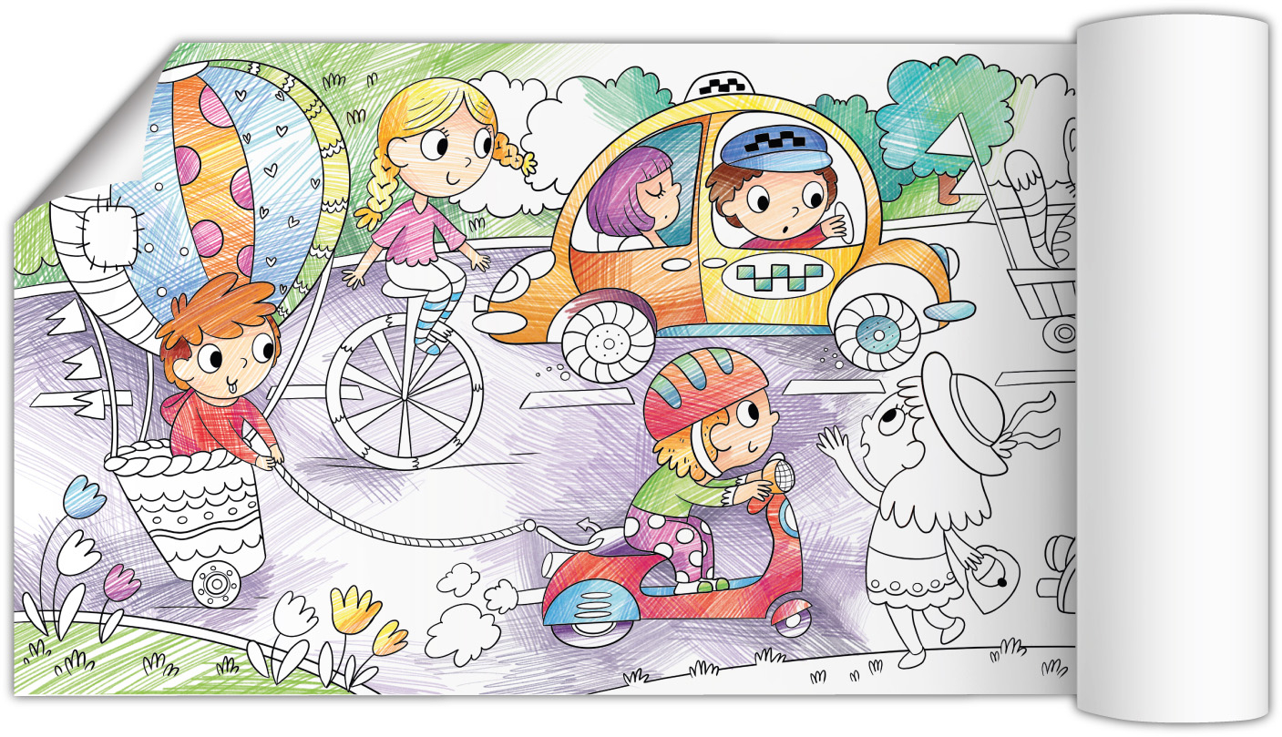 Раскраска Транспорт Додо / Dodo 300326 (300326) по ...