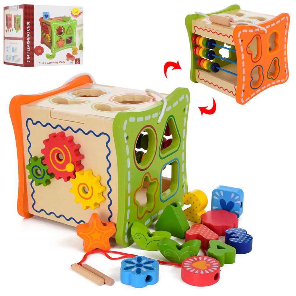 Сортер для детей – яркая и полезная игрушка для самых маленьких