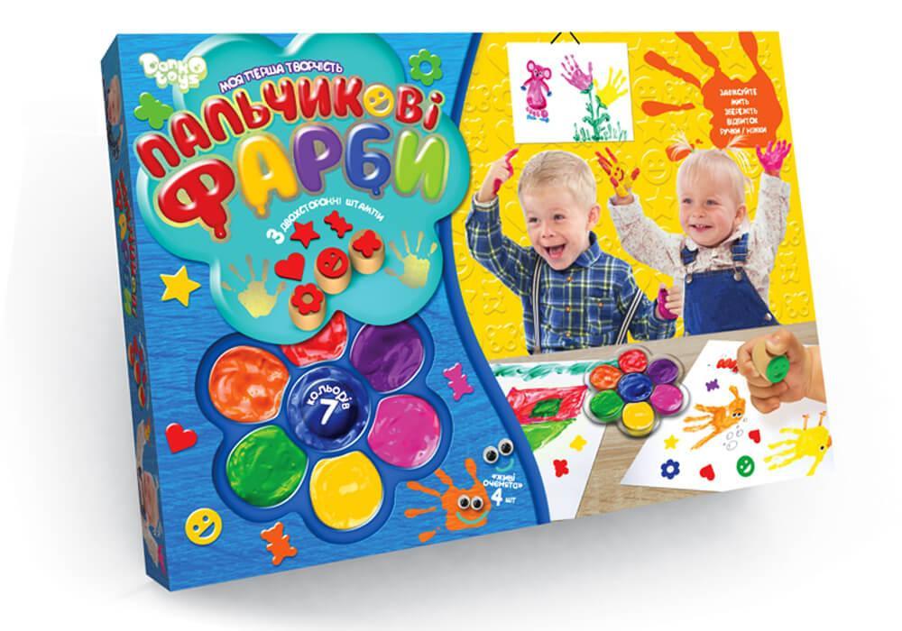 Пальчиковые краски: лучший способ учить малыша рисованию
