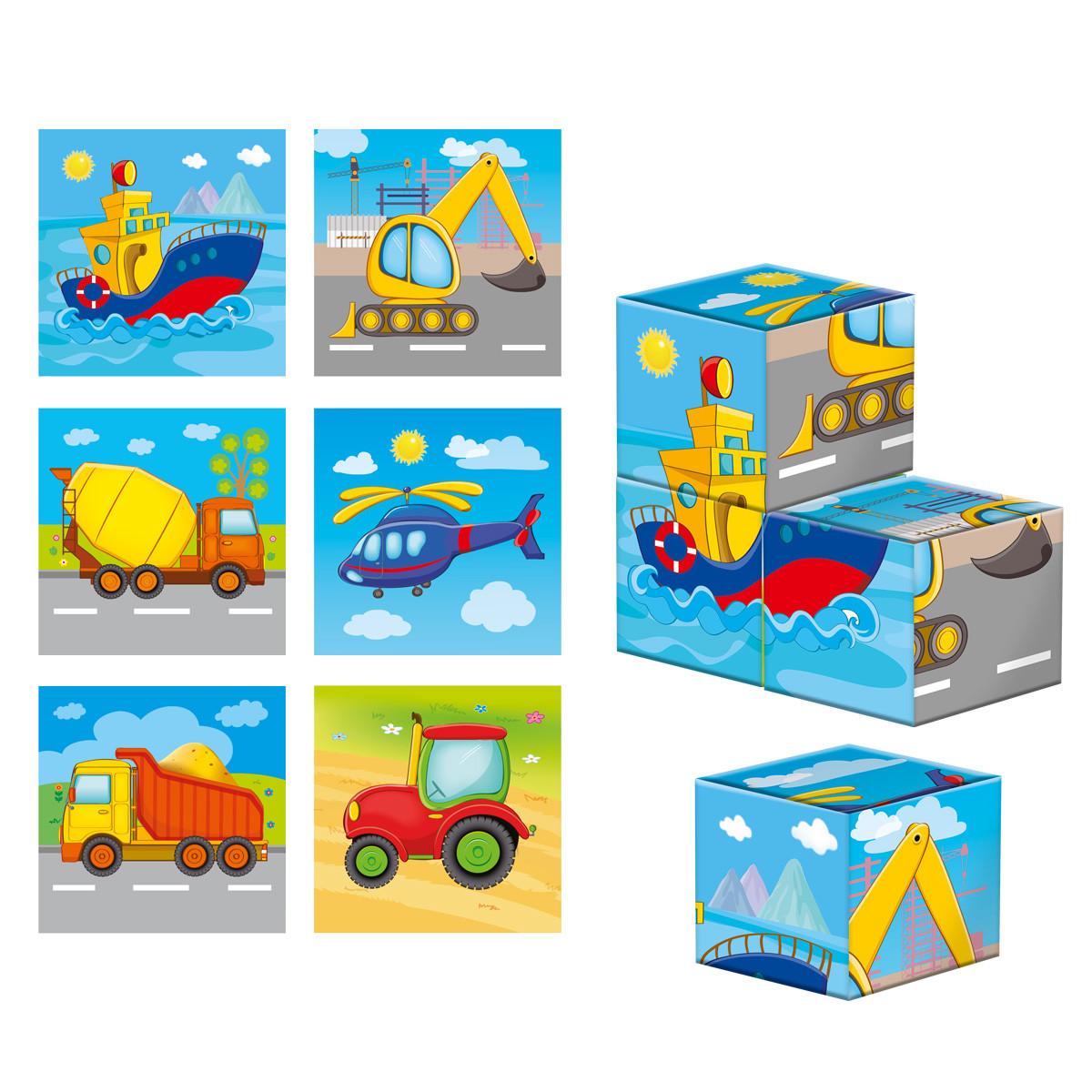 Детские деревянные кубики
